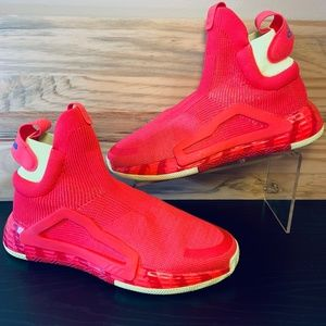 New Adidas Next Level Shock Red Basketball Shoes